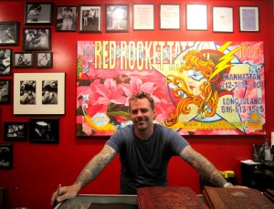 Mike at Red Rocket Tattoo