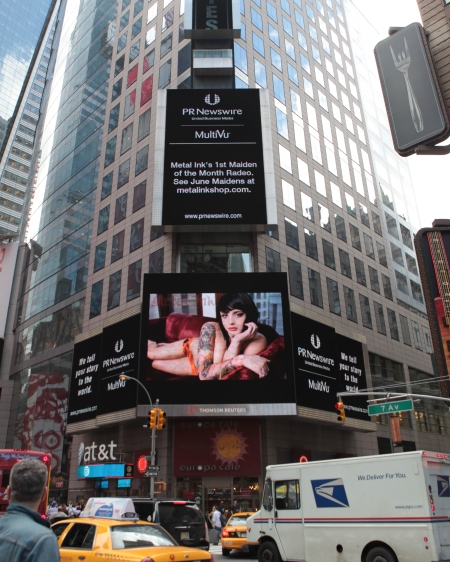 Radeo in Times Square