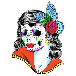 sugar skull mamacita