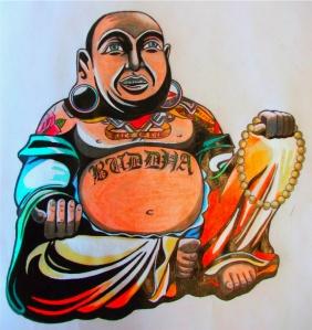 Inky Buddha